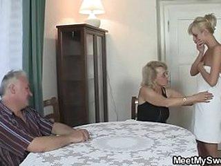 She fucks his whole family!