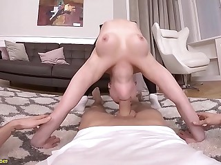 extreme flexi anal pov intercourse gymnastic