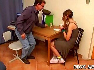 Grandad gets upon lady-love legal age teenager