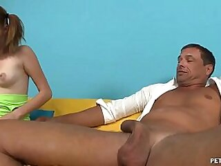 Puberty Naked  Body Gives Her Uncle A Ramp Erection