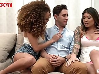 Kinky Teens Butter up and Fuck Married Guy - LETSDOEIT.COM