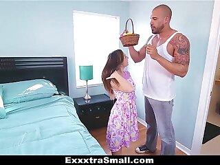 ExxxtraSmall - Teen Hunts Easter Eggs to Spread The brush Legs