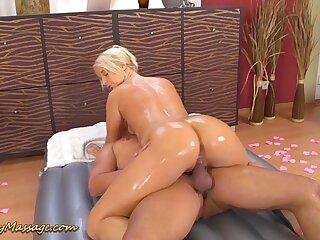 round ass slippery rub-down