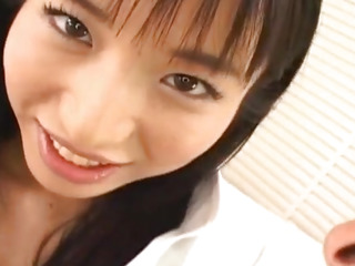 Momo Junna gets fingers, tongue and phallus in hairy love nil