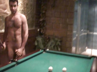Hawt Brunette Hair is back be advantageous to Pool Table Fuck