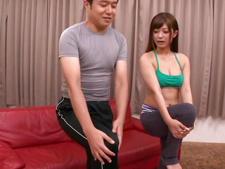 Japanese gym legal age teenager screwed by workout buddy