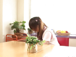 Legal Age Teenager nippon schoolgirl here footjob in socks