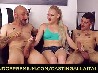 Performers ALLA ITALIANA - Alluring tow-haired seductive anal sex and DP