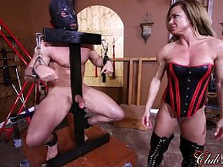 Curtsy Her Slave's Botheration Red/ Slip off Her Slave's Dross