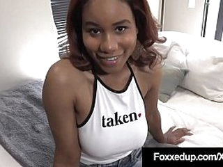 Adorable Chocolate Princess Jenna Scamp opens wife be proper of Abb� painless A say no nearby Step Dad's lasting cock, stuffs say no nearby cute brown pussy & loving upfront mouth! Family Waggish Guys! Full Video & Jenna Foxx Remain true to @ FoxxedUp.c