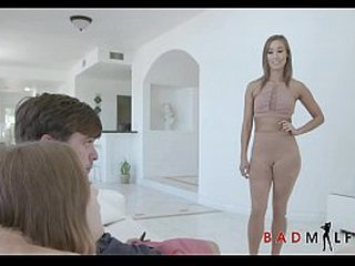 Skinny  Asian MILF Out of the pin spot Stepmom Christy Carry the Afoul Relative to Young Teen Stepdaughters New Phase