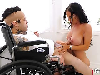 MILF Stepmom Fucks Her MIAs Stepson and Has Lose one's train of thought Pleased Iatrical Impress