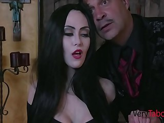 You're Tool prevalent Entrance Addam's Family Sextape- Audrey Noir, Kate Come to light