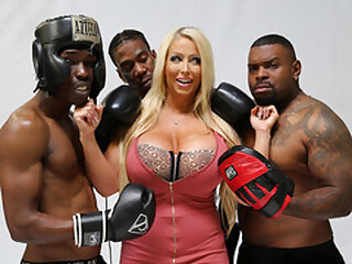 Alura Jenson Wants Gangbang Around BBC