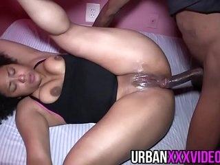 19 yr bi racial anal whore