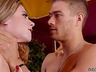 Young person Xander Corvus dominates hot blonde brat teen Anya Olsen then in villeinage anal fucks her step mom with huge breast Phoenix Marie with huge dick