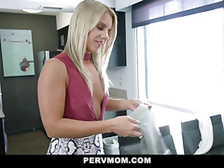 PervMom - Hot Milf Cheats With Her Big Dick Stepson