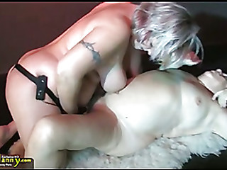 OldNanny Big tits bbw granny have a threesome coition hardcore