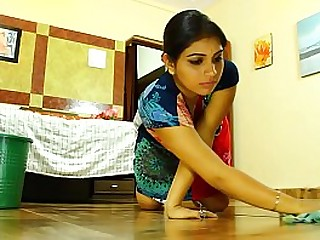 Indian tramp fucking young maid