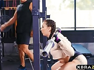 Fucked so hard in the gym