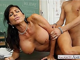 Chesty gloom teacher Tara Holiday fucking