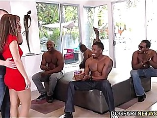 Birthday Gangbang with Off colour Mom Alana Cruise